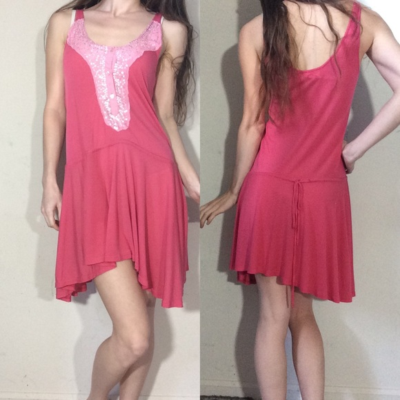 Free People Dresses & Skirts - Free People Pink Tunic Dress